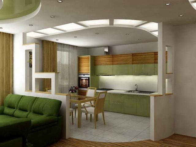 Кухня дизайн шоколадная