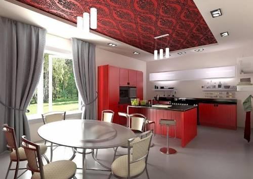 Кухня столовая 7