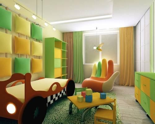 Фото дизайна детской комнаты для 2 мальчиков фото
