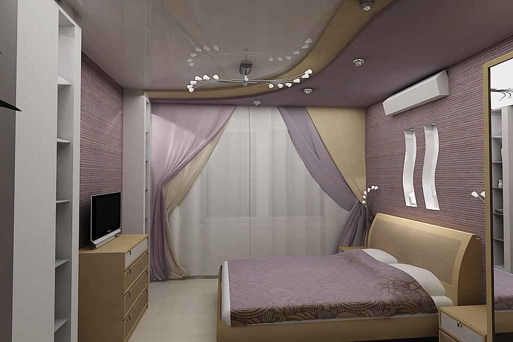 Идеи дизайна маленькой спальни